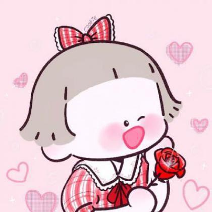 情侣头像卡通可爱一对,就是很想当你老公