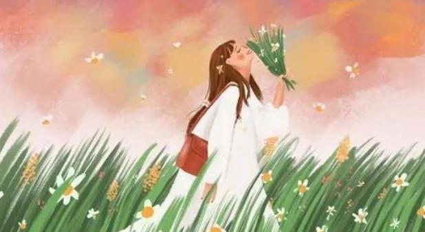 爱情的句子唯美短句 喜欢你,像春去秋来,海棠花开